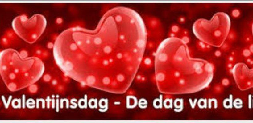 Het is bijna valentijnsdag ❤???dag van …