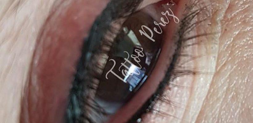 Eyeliner boven en onder❤
