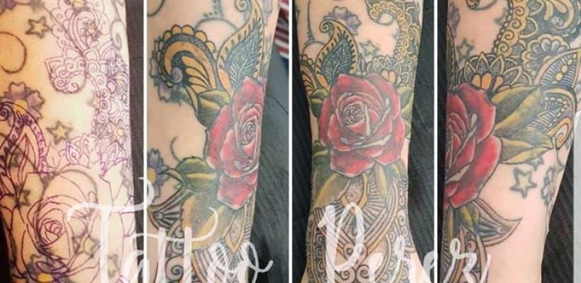 Sleeve cover up in progress???