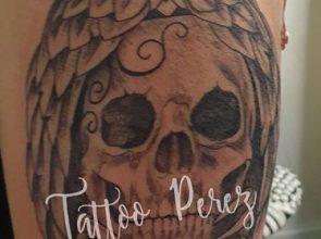 Vandaag gewonnen tattoo mogen zetten bij Diana …