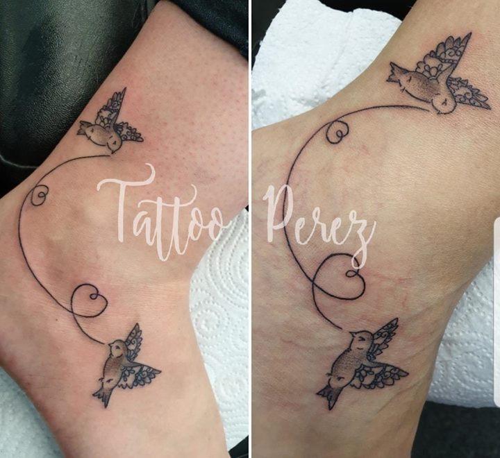Moeder En Dochter Tattoo Tattoo Perez Permanente Make