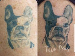 Tattoo opgeknapt 👌😍 (1ste foto niet door mij …