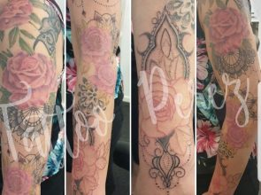 Sleeve in progress (not finished …
