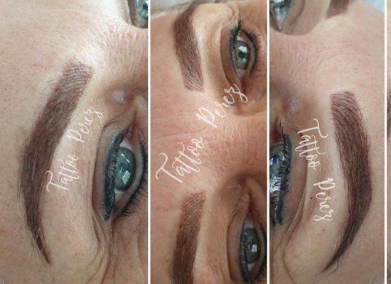 Combi brows 👌😍😍😍(1ste behandeling) …